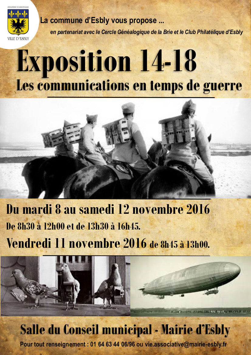 Affiche expo 14 18 2016