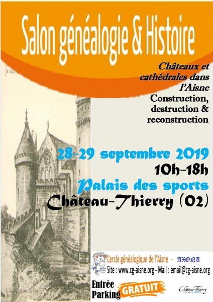 Affiche salon cga chateau thierry 2019