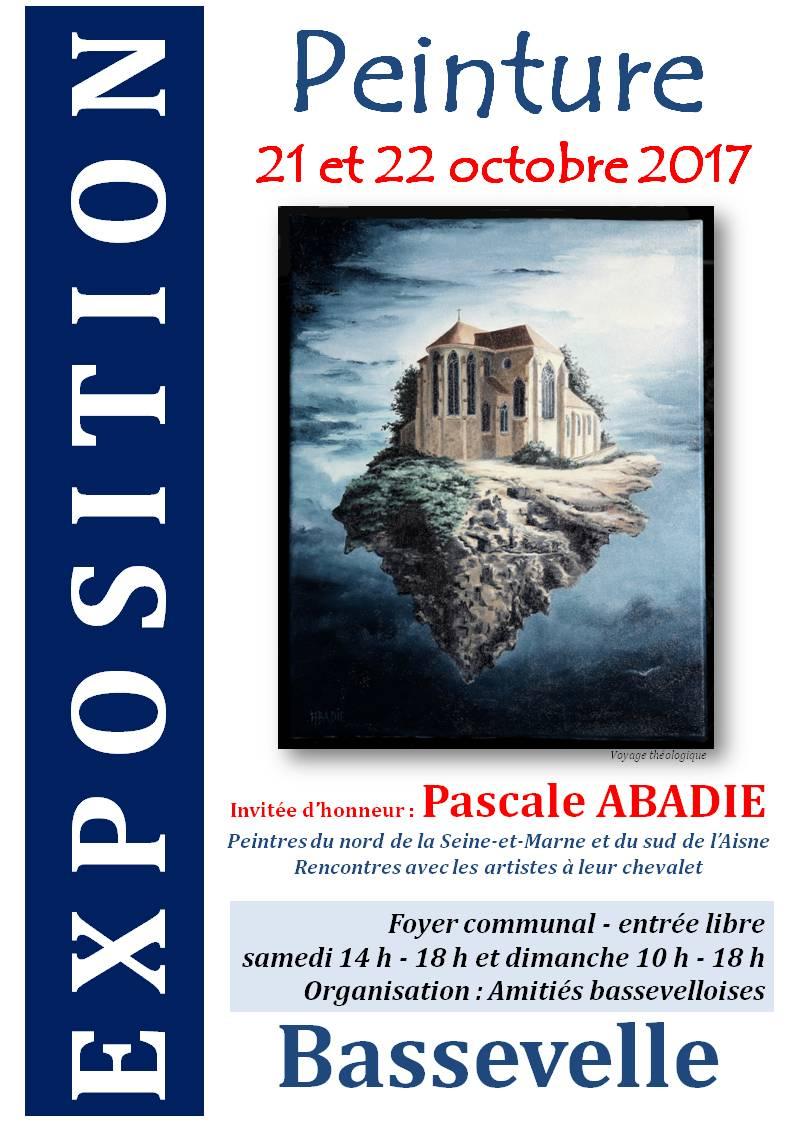 Bassevelle exposition de peinture affiche