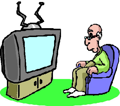 Clip art television
