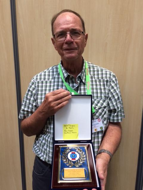 Congres medaille 2018