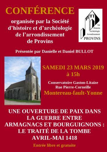 Montereau provins 2019 affiche