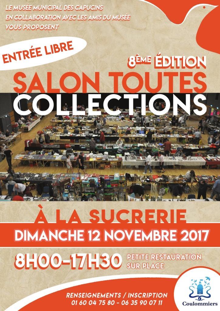 Salon des collectionneurs coulommiers dimanche 12 novembre 2017 8h00 17h30