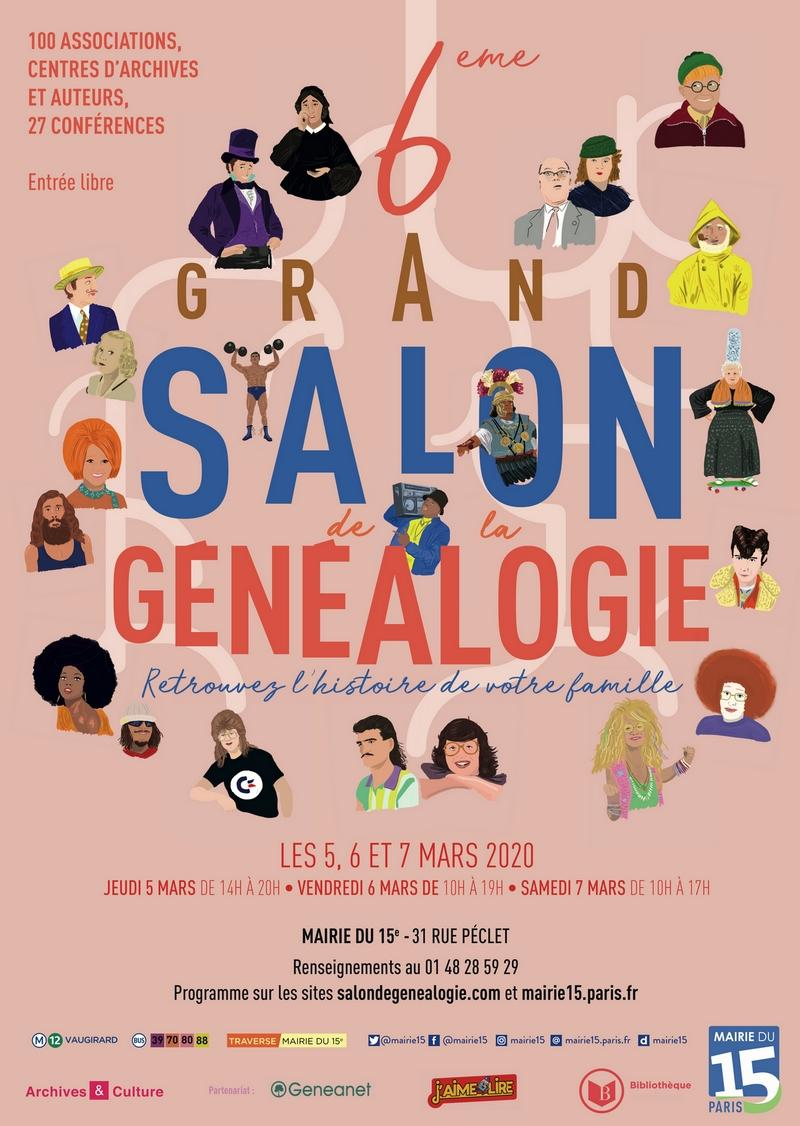 Salon genealogie 2020
